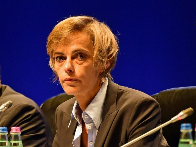 Hardouin bleibt die einzige Frau im Exekutivkomitee