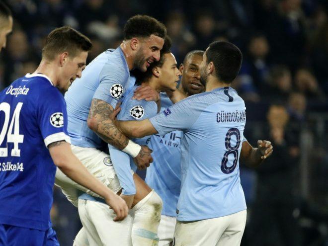 """Manchester City jubelt doch noch """"auf Schalke"""""""