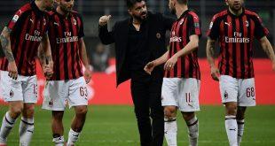 AC Mailand spielt gegen Lazio 0:0