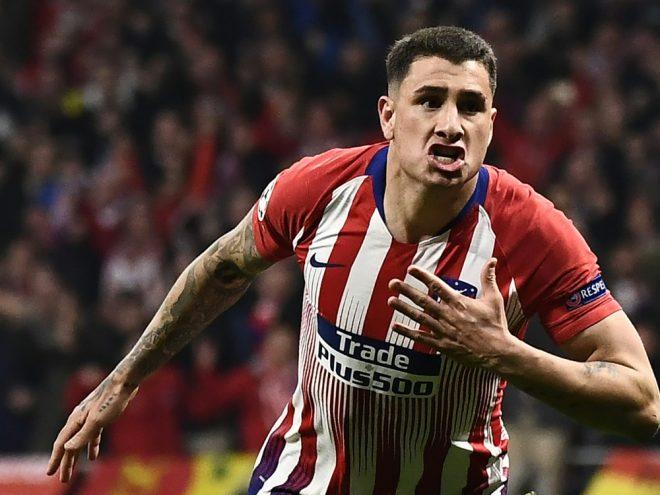 Jose Gimenez erzielt die Führung für die Spanier