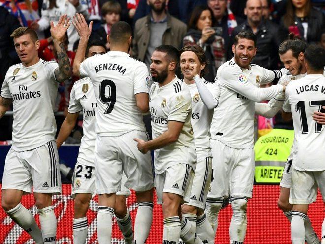Real Madrid feiert 3:1-Sieg im Stadtderby