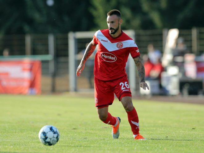 Diego Contento ist zurück im Fortuna-Training