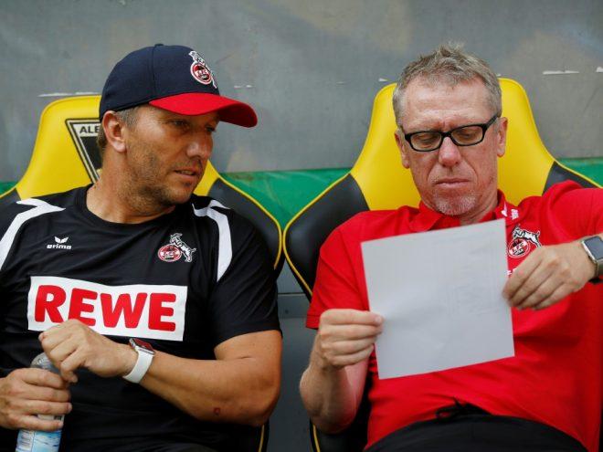 Schmid (l.) kehrt zurück nach Köln und wird Chefscout