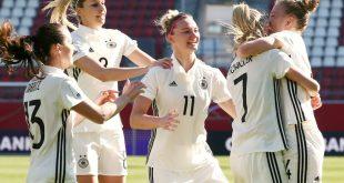 Die DFB-Frauen wollen gegen Frankreich gewinnen