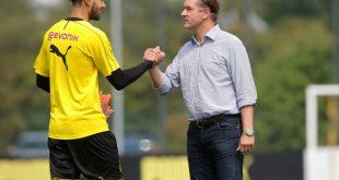 Eric Oelschlägel (l) steht beim BVB vor seinem Debüt