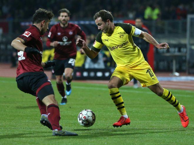 Dortmund bleibt auch in Nürnberg sieglos