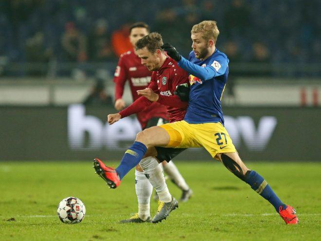Nicolai Müller (l.) traf gegen den FCN gleich doppelt