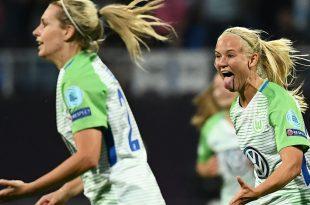 Pernille Harder verlängert Vertrag in Wolfsburg