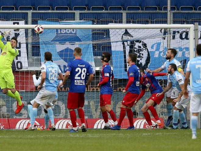 Uerdingen kassiert gegen TSV 1860 die nächste Niederlage
