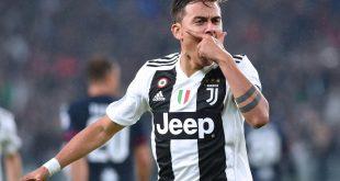 Paolo Dybala erzielte das Tor des Tages für Juventus