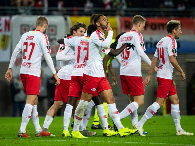 RB Leipzig steht erstmals im Pokal-Viertelfinale