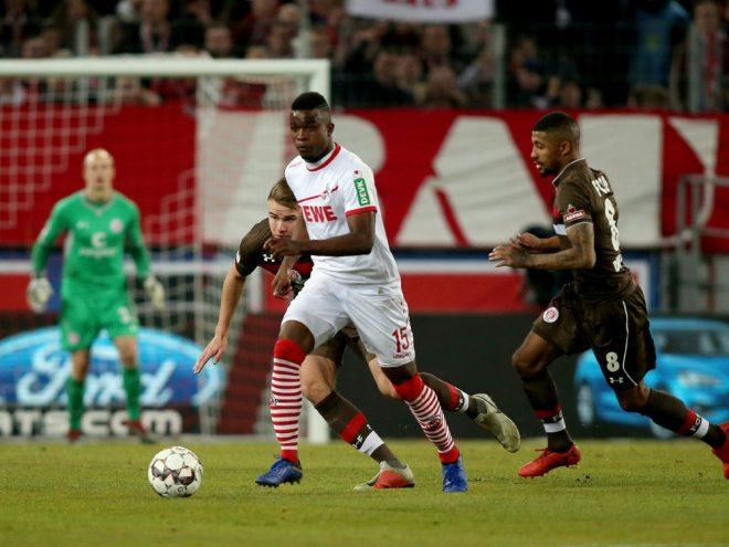 Jhon Cordoba erzielt gegen St. Pauli einen Dreierpack