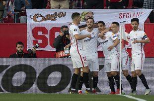 Sevilla durfte im Rückspiel gegen Lazio zweimal jubeln