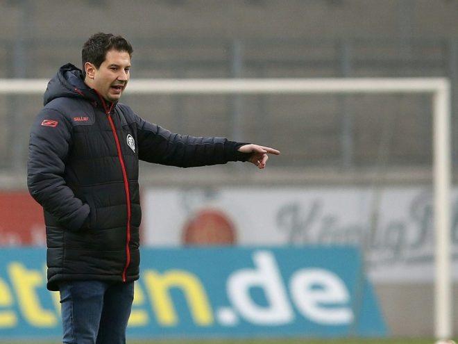 Argirios Giannikis wurde beim VfR Aalen entlassen