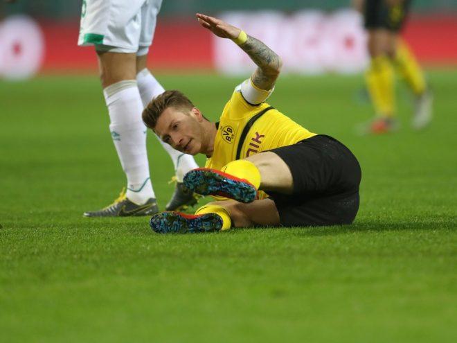 Marco Reus verletzte sich im DFB-Pokal am Oberschenkel