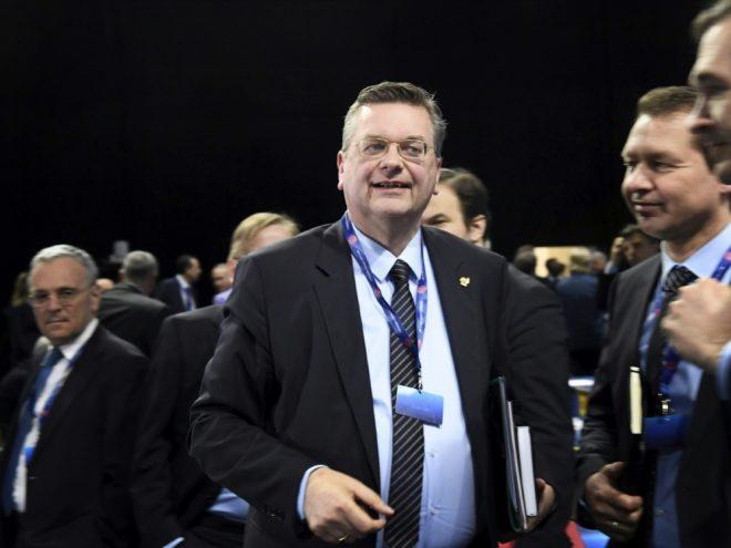 Wiederwahl von Grindel auf der Agenda des UEFA-Kongress