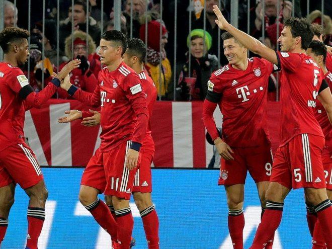 Bayern feiern 3:1-Heimsieg gegen Schalke 04