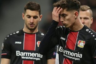 1:4-Niederlage für Kai Havertz und Bayer Leverkusen