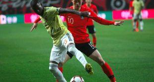 Erzielte den Siegtreffer gegen Kolumbien: Lee Jae Sung