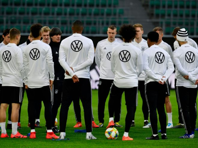 Das DFB-Team vor dem Auftakt der EM-Qualifikation