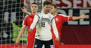 Leon Goretzka erzielte gegen Serbien das 1:1