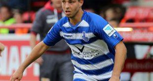 Kevin Wolze erzielte den Duisburger Ausgleich