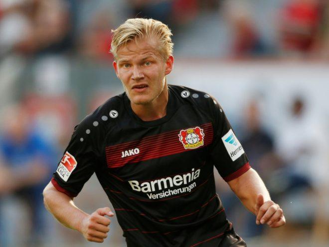 Auch Pohjanpalo ist zurück im Training der Leverkusener