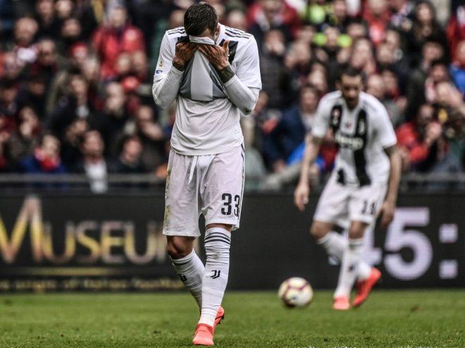 Turin verliert ohne Ronaldo gegen Genua
