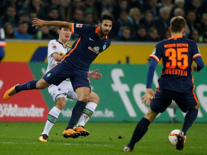 Pizarro (M.) fehlt wegen einer Muskelverletzung