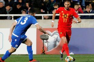 EM-Quali: Belgien gewinnt auch gegen Zypern