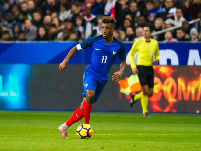 Deschamps nominiert Kingsley Coman für das Länderspiel