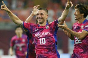 Verhalf seinem Team zum Sieg: Lukas Podolski