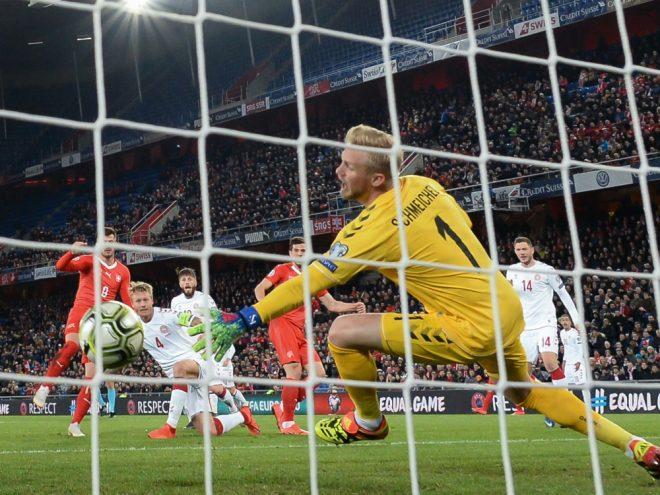 Schweiz gegen Dänemark endet mit torreichem 3:3