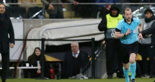 Hütter wurde vom Schiedsrichter des Platzes verwiesen