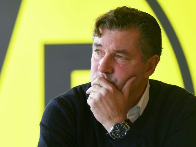 Michael Zorc übt Kritik
