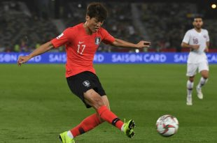 Chung-Yong Lee erzielte für Südkorea den Siegtreffer