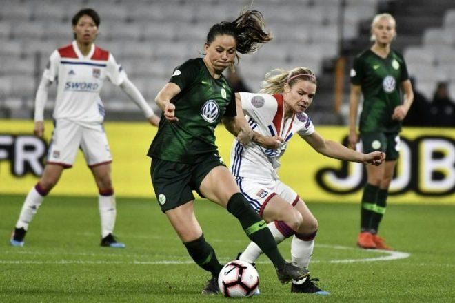 Wolfsburg verliert das Viertelfinal-Hinspiel gegen Lyon