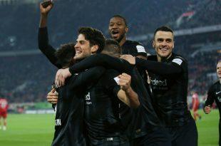 Eintracht Frankfurt ist auf Champions-League-Kurs
