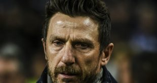 Di Francesco wurde als Trainer der AS Roma entlassen