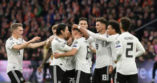 DFB-Team feiert einen knappen 3:2-Sieg