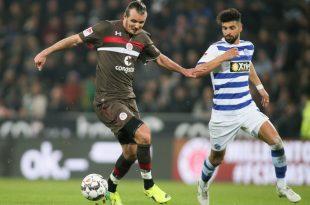 Alexander Meier vergibt gegen Duisburg die beste Chance