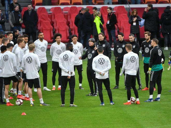 Zuschauer beurteilen die deutsche Nationalmannschaft