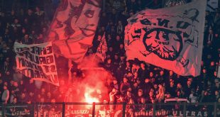 Frankfurter Fans zündeten gegen Mailand Pyrotechnik