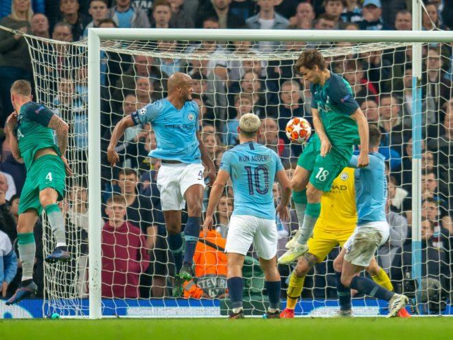 Die entscheidende Szene: Das 3:4 für Tottenham