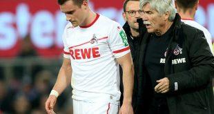 Clemens (l.) musste verletzt ausgewechselt werden