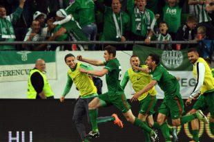 Ferencvaros Budapest ist ungarischer Fußball-Meister