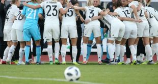 Die deutschen Fußballerinnen gewinnen in Schweden