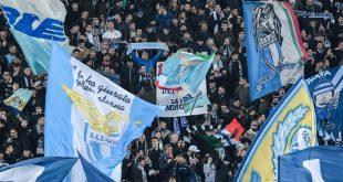 Lazio Fans fallen erneut negativ auf.