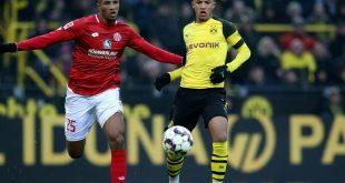 Schoss den BVB gegen Mainz zum Sieg: Jadon Sancho (r.)