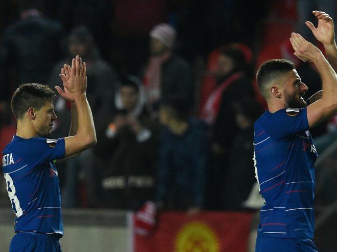 Chelsea hat das Halbfinale der Europa League gebucht